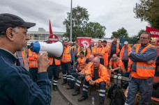 Binmen Strike; Perry Barr Depot, 7th Sept 2017;