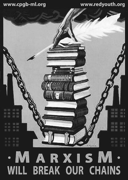marxism break chains_bw