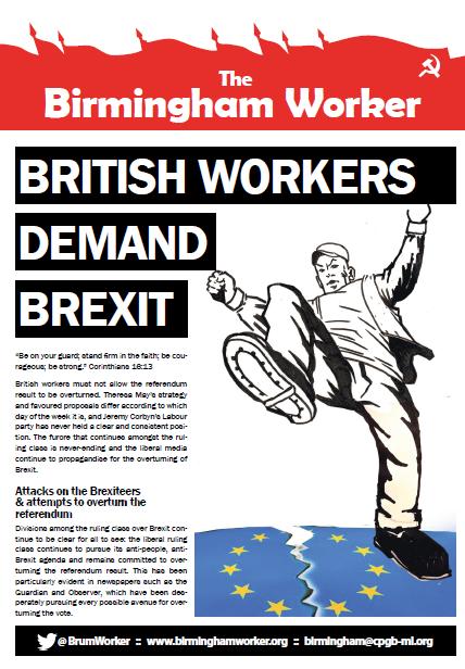 birmingham worker brexit