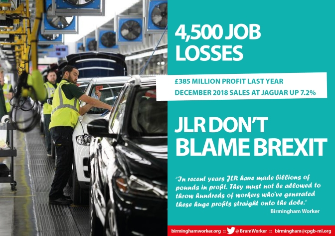 jlr job losses_brexit