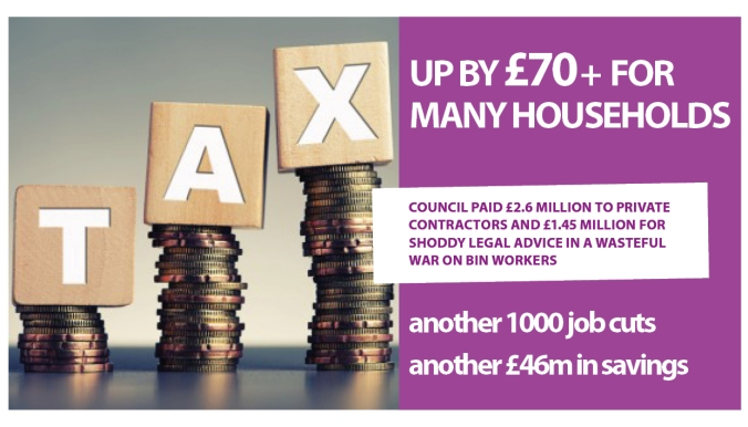 council tax rise 2019