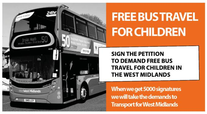free bus travel for children 201905