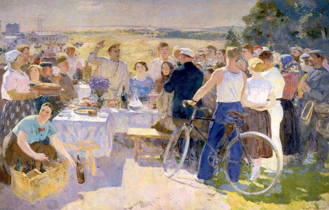 Sergei Gerasimov - A Collective-Farm Festival