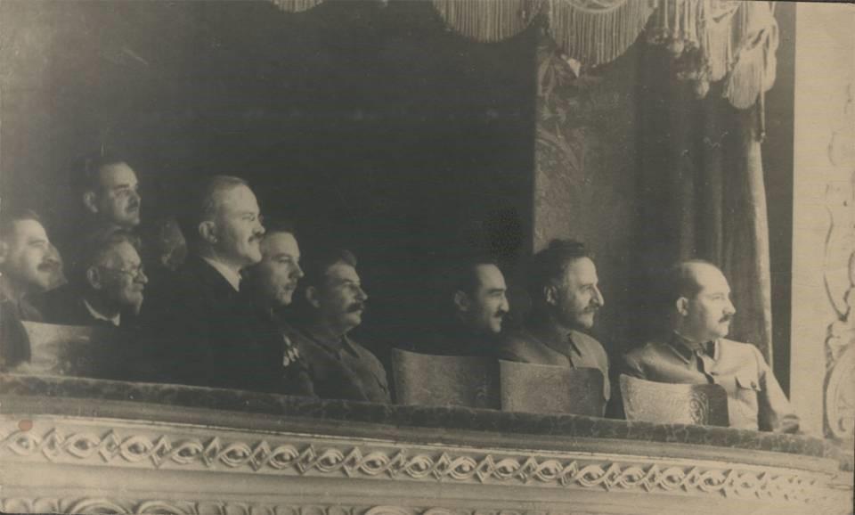 Stalin at Bolshoi